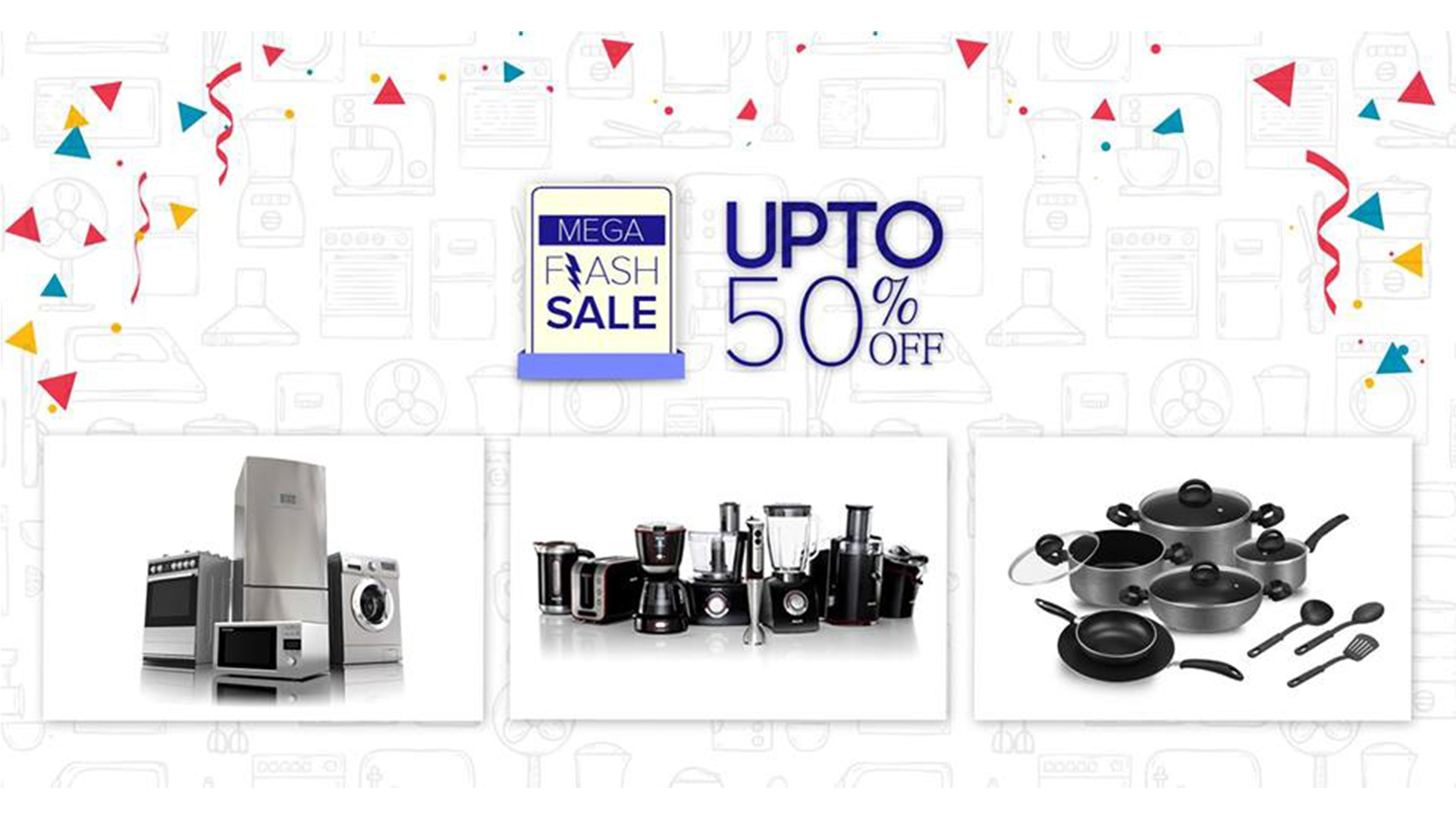 Mega Flash Sale – Up to 50% OFF on Electronics